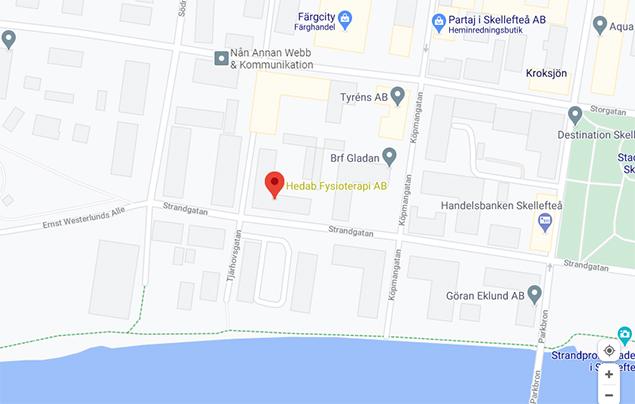 Hedab Fysioterapi AB, Strandgatan 17
